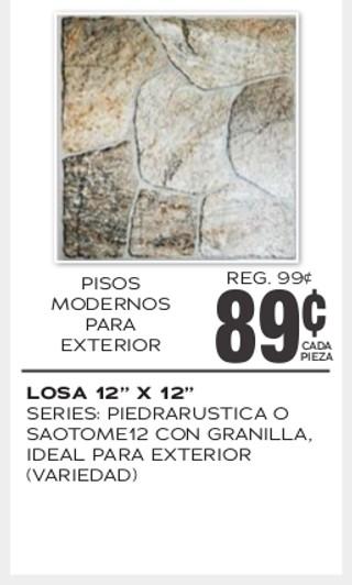 """Losa 12"""" x 12"""""""