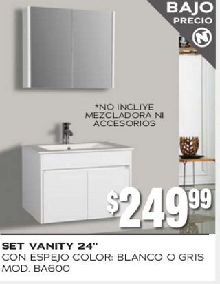 "Set Vanity 24"""