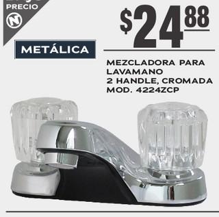 Mezcladora para Lavamano