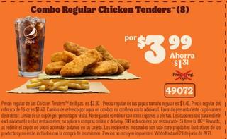 Combo Regular Chicken Tenders