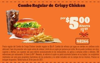 Combo Regular de Crisoy Chicken