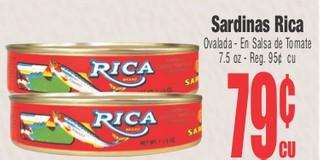 Sardinas Rica
