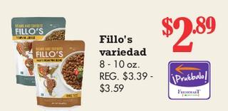 Fillo's Variedad 8 - 10 oz