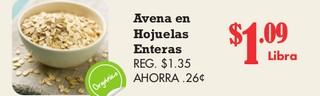 Avena en Hojuelas Enteras