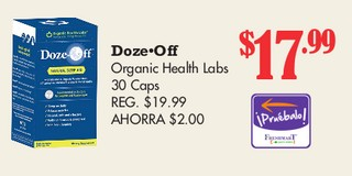 Doze - Off Organic Health Labs 30 Caps