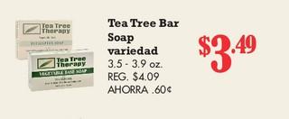 Tea Tree Bar Soap Variedad