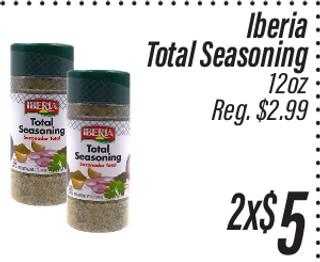 Iberia Total Seasoning
