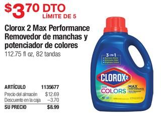 Clorox 2 Max Perfomance