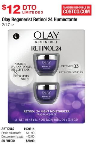 Olay Regenerist Retinol 24 Humectante