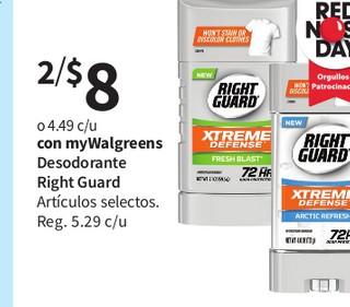Desodorante Right Guard