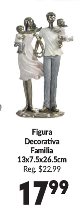 Figura Decorativa Familia