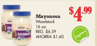 Mayonesa Woodstoock 16oz.