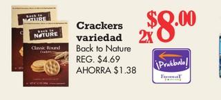 Crackers Variedad