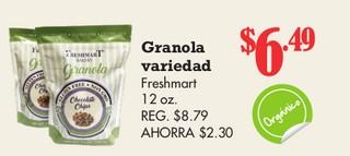 Granola Variedad Freshmart