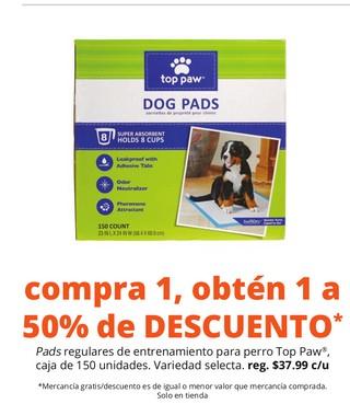 Pads Regulares de Entrenamiento Para Perro
