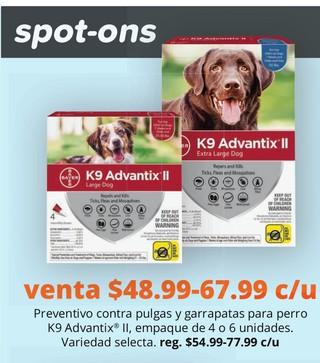 Preventivo Contra Pulgas y Garrapatas Para Perro