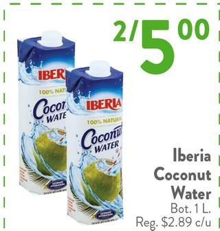 Iberia Coconut Water