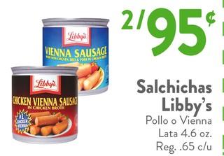 Salchichas Libby's