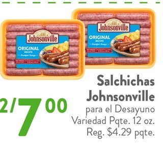 Salchichas Johnsonville