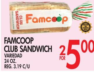 Famcoop Club Sandwich