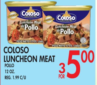 Coloco Luncheon Meat