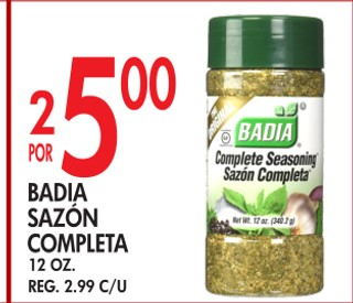 Badia Sazón