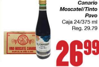 Canario Moscatel/Tinto Pavo