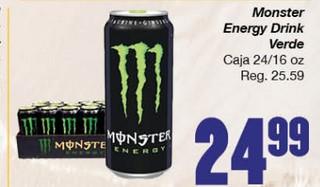 Monster Energy Drink Verde