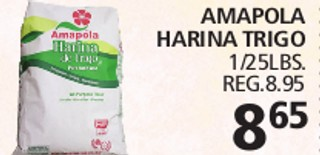 Amapola Harina Trigo