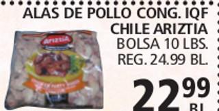 Alas de Pollo Cong.