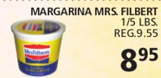 Margarina Mrs. Filbert