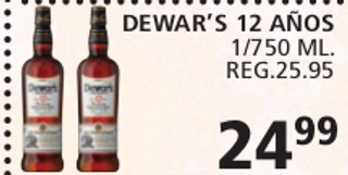 Dewar's 12 Años