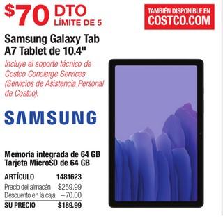 """Samsung Galaxy Tab A7 Tablet de 10.4"""""""