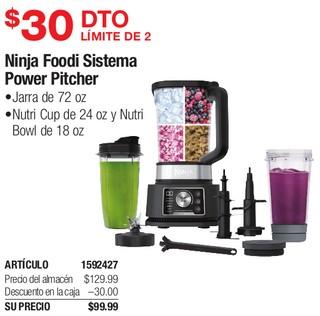 Ninja Foodi Sistema Power Pitcher