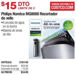 Philips Norelco MG8000 Recortador de Vello