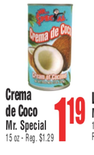 Crema de Coco Mr. Special