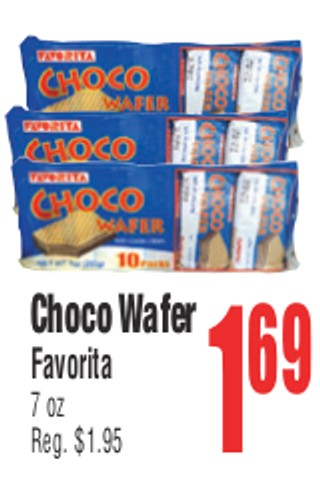 Choco Wafer Favorita