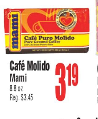 Café Molido Mami