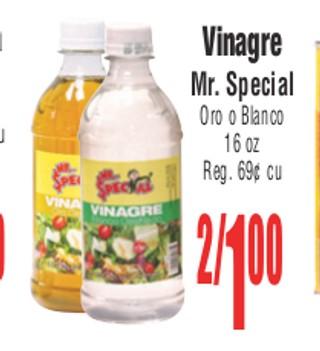 Vinagre Mr. Special