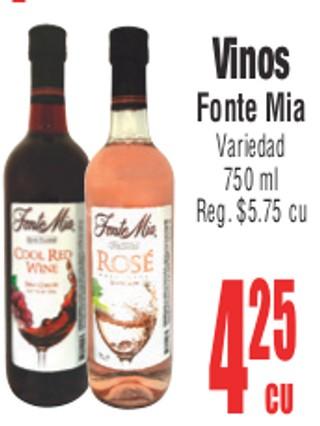 Vinos Fonte Mia