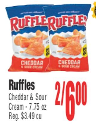 Ruffles Cheeda & Sour