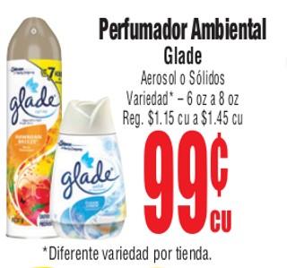 Perfumador Ambiental Glade