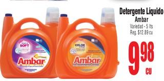 Detergente Líquido Ambar