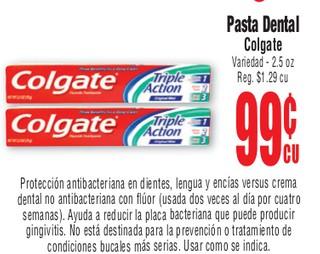 Pasta dental Colgate