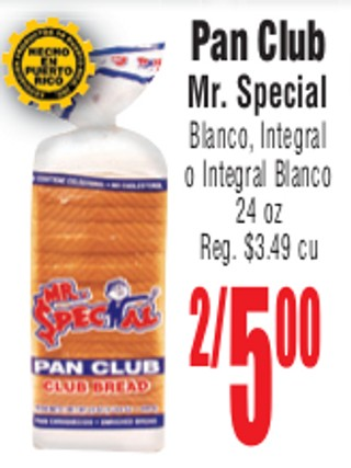 Pan Club Mr. Special