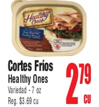 Cortes Fríos Healthy Ones