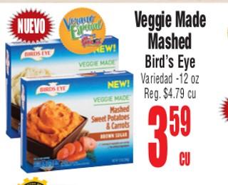 Veggie Made Mashed Bird's Eye