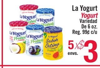 La Yogurt Yogurt
