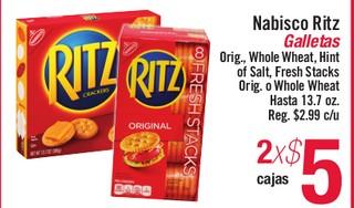 Nabisco Ritz Galletas