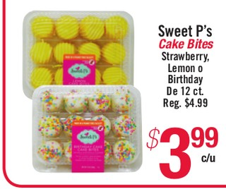 Sweet P's Cake Bites